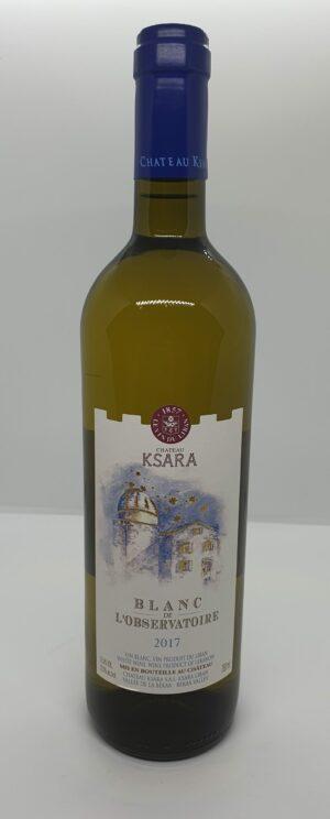 Vin blanc Ksara 75 Cl Blanc de l'Observatoire