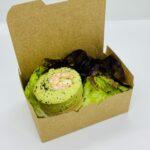 Bavarois d'asperges vertes & saumon fumé