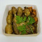 Cuisse de canard confite & pommes de terre ratte