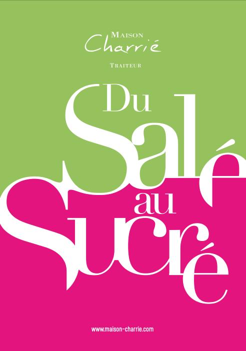 Catalogue Maison Charrié, Traiteur