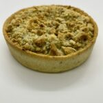 Tarte Crumble Ricotta / Courgette et épinard